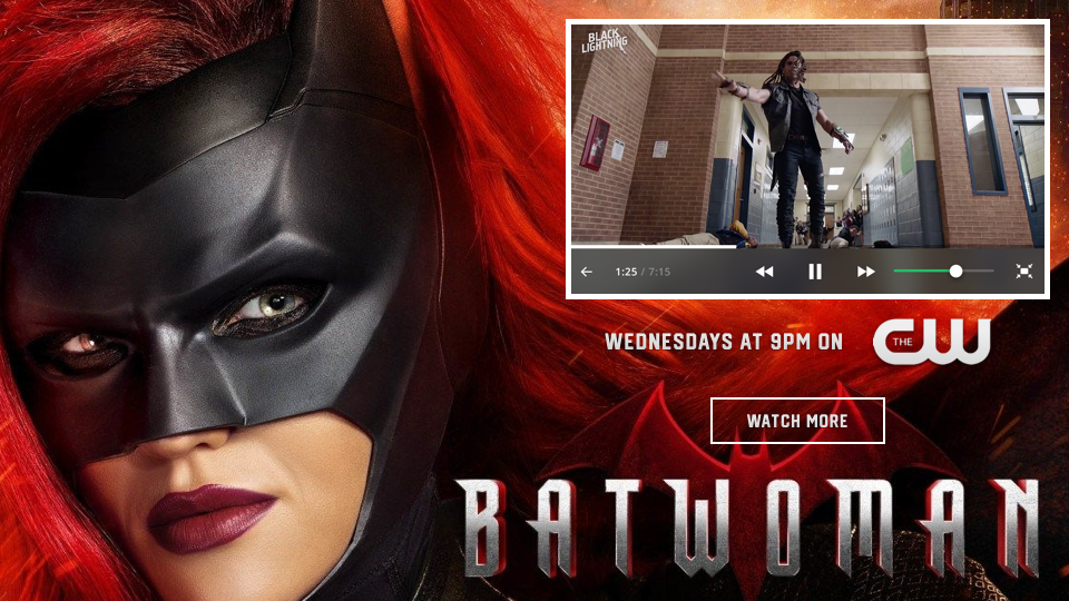 Batwoman – Overlay and Mid-Slate Example