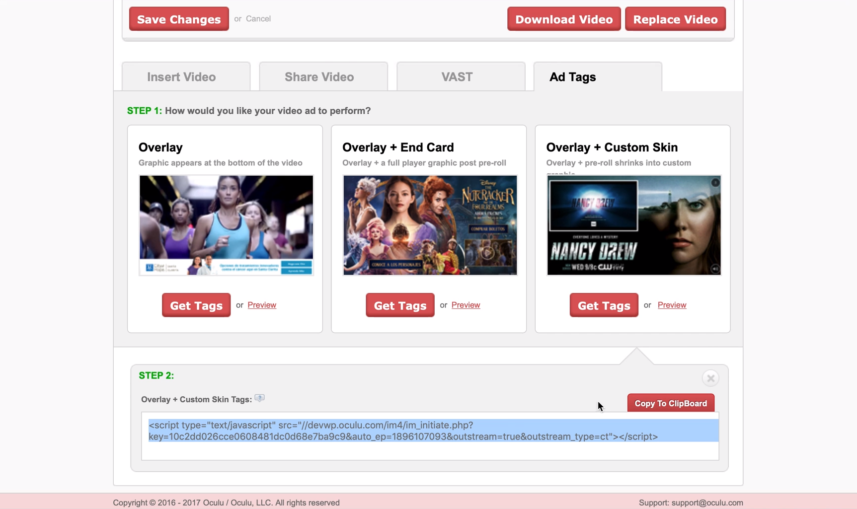 Oculu now offers ad tags to in-house programmatic teams to serve emerging video formats